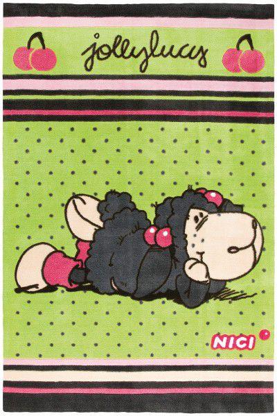 Kinderteppich Nici 920 Jolly Lucy 2 grün