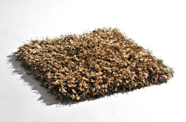 Hochflor Shaggy Teppich Limelight 2200 leine / creme beige