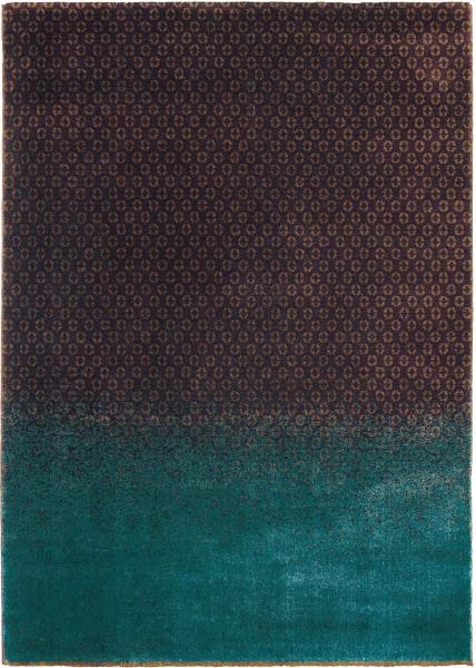 Teppich Ted Baker Dipgeo 58405 rust / braun türkis