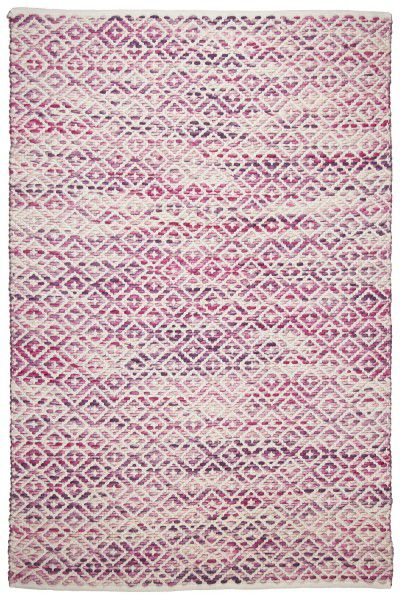 Teppich Tom Tailor Smooth Comfort Diamond 260 berry / rosa