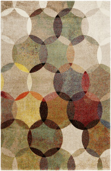 Kurzflor Designer Teppich Esprit Modernina ESP-3378-070 multicolor