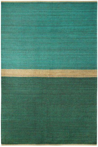 Teppich Brita Sweden Field grün blau
