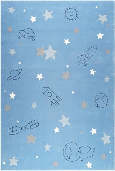 Kinder Teppich Esprit Han ESP-4270-01 blau