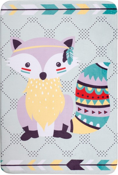 Kinder Teppich Obsession Fairy Tale Racoon 645 multicolor