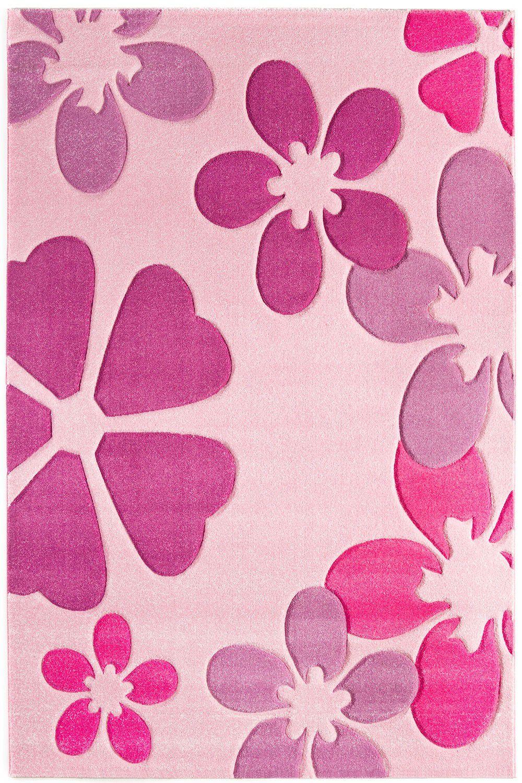 Teppich Luxor Living Tampa pink   Raum Quadrat - Fashion Your Room ...