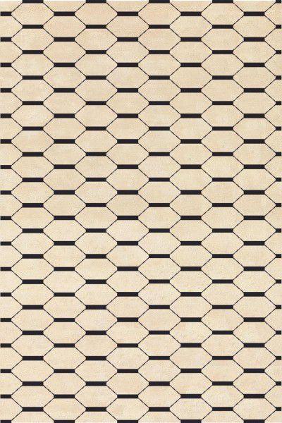 Kurzflor Designer Teppich Angelo Signature Jules Wabbes 6020-026 beige