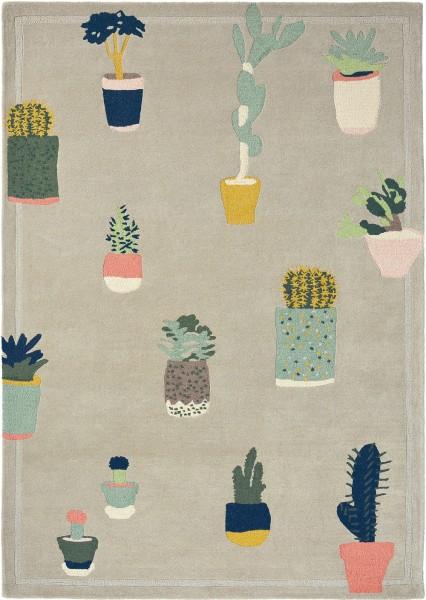 Teppich Ted Baker Cactus 56201 grau