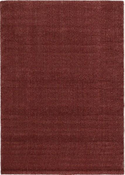 Kurzflor Designer Teppich Super Line Soft Blend 569 rot