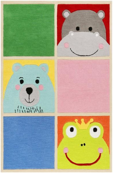Kinder Teppich Smart Kids What's Up!? SM-4296-01 multicolor