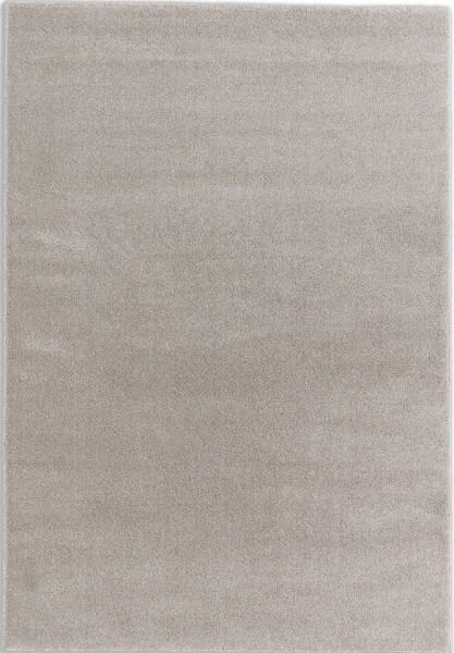 Kurzflor Designer Teppich Schöner Wohnen Pure 6307 190 006 beige