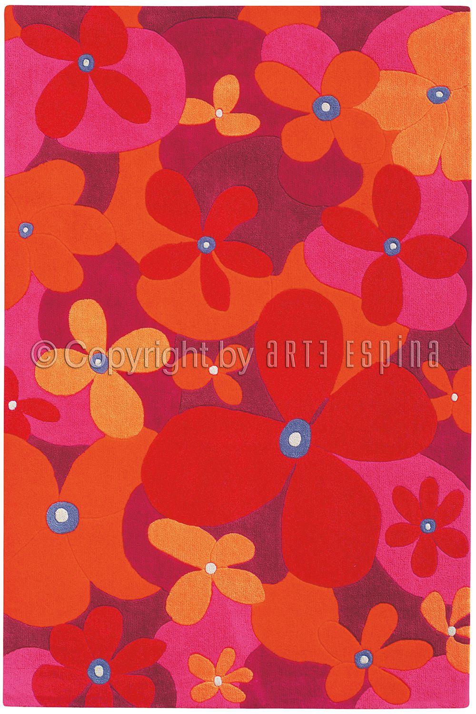 Teppich Arte Espina Joy 205 44 Rosa 60 X 90 Cm