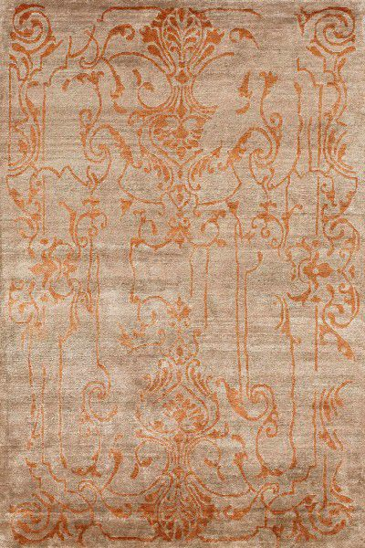 Teppich Angelo Silky Design 3060-52 taupe orange