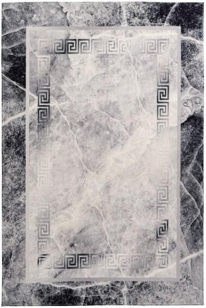 Kurzflor Designer Teppich Obsession Palazzo 272 grau