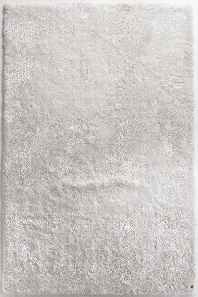 Hochflor Shaggy Teppich Tom Tailor Soft weiss