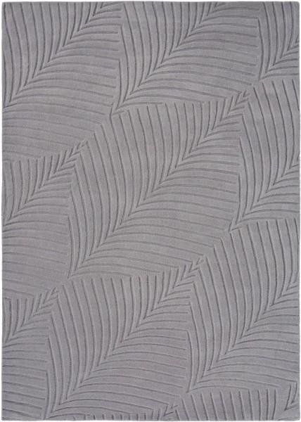 Kurzflor Designer Teppich Wedgwood Folia 38305 grau