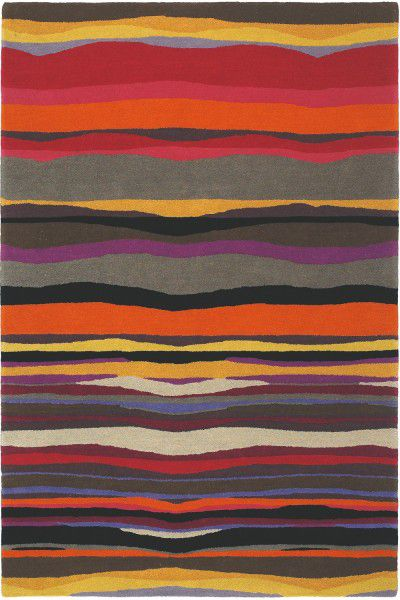 Kurzflor Designer Teppich Brink & Campman Estella Summer 85200 multicolor