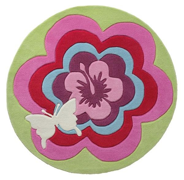 Teppich Esprit Fantasy Flower ESP-3812-01 grün