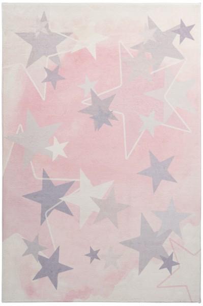 Kinder Teppich Obsession Stars 410 pink