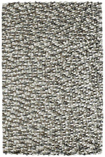 Teppich Obsession Canyon 270 stone / silber grau