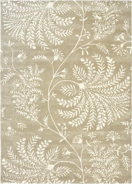 Kurzflor Designer Teppich Sanderson Mapperton 45901 Linen beige
