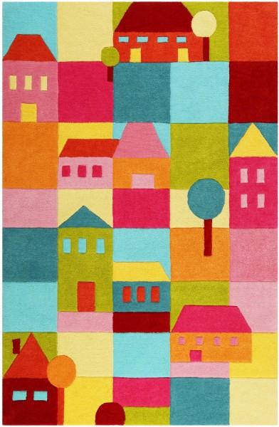 Kinder Teppich Smart Kids Poppy Town SM-4292-02 multicolor