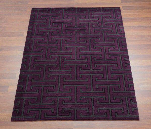 Teppich Joop Design Exklusiv Lila Grau Raum Quadrat Fashion Your
