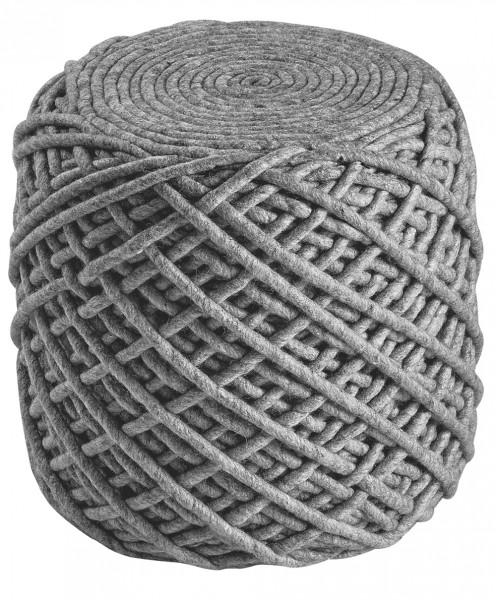 Sitzkissen / Hocker Obsession Pouf Royal 888 silber