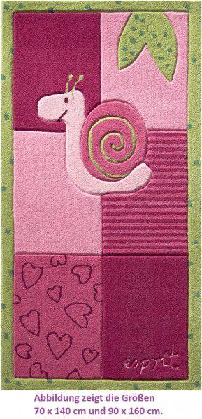 Kinder Teppich Esprit Bee ESP-2844-01 pink
