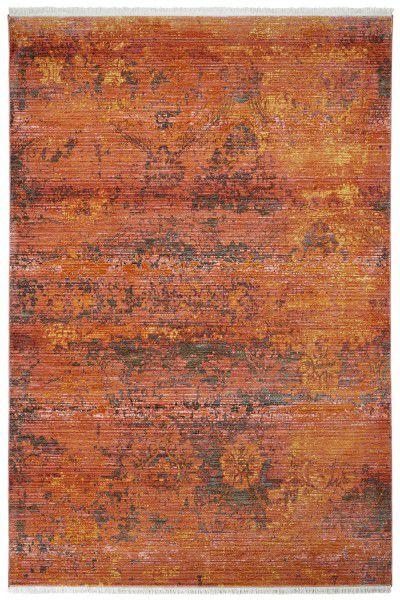 Teppich Obsession Laos 455 magma / rot orange