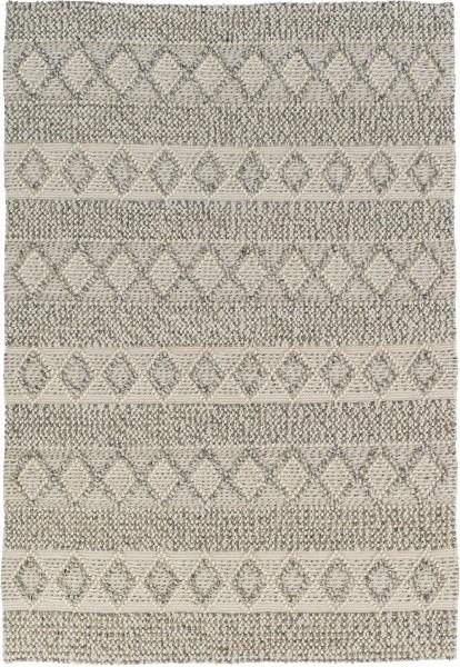 Kurzflor Designer Teppich Schöner Wohnen Alva 191 006 beige grau