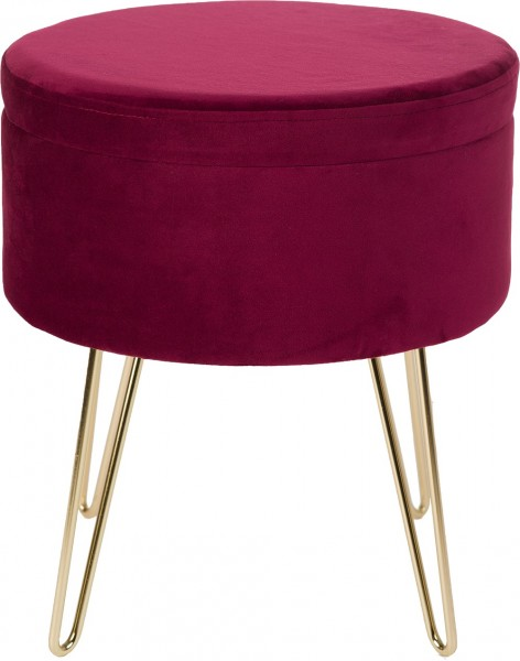 Hocker / Tisch / Ablage Obsession Glamour Stool 222 burgundy / lila