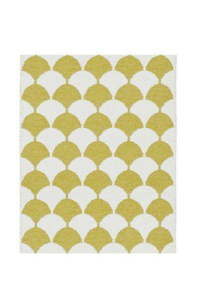 Indoor / Outdoor Teppich Brita Sweden Gerda mustard / gelb (Klein)