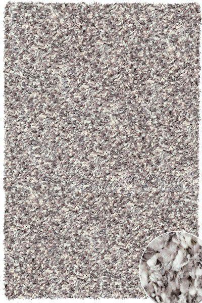 Hochflor Shaggy Teppich Twilight 6699 silber weiss