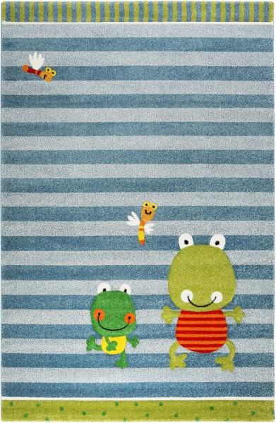 Kinder Teppich Sigikid Fortis Frog SK-22429-031 blau grün