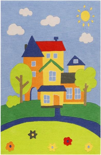 Kinder Teppich Smart Kids Villa Villakulla SM-4297-02 multicolor