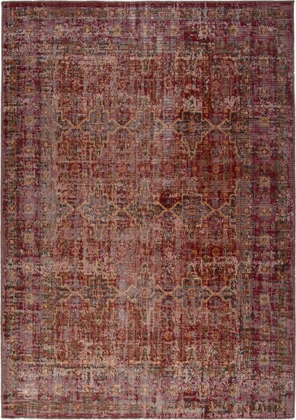 Kurzflor Designer Teppich Obsession Tilas 243 rot