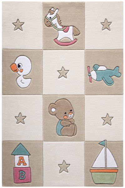 Teppich Smart Kids Newborn SM-3986-06 beige