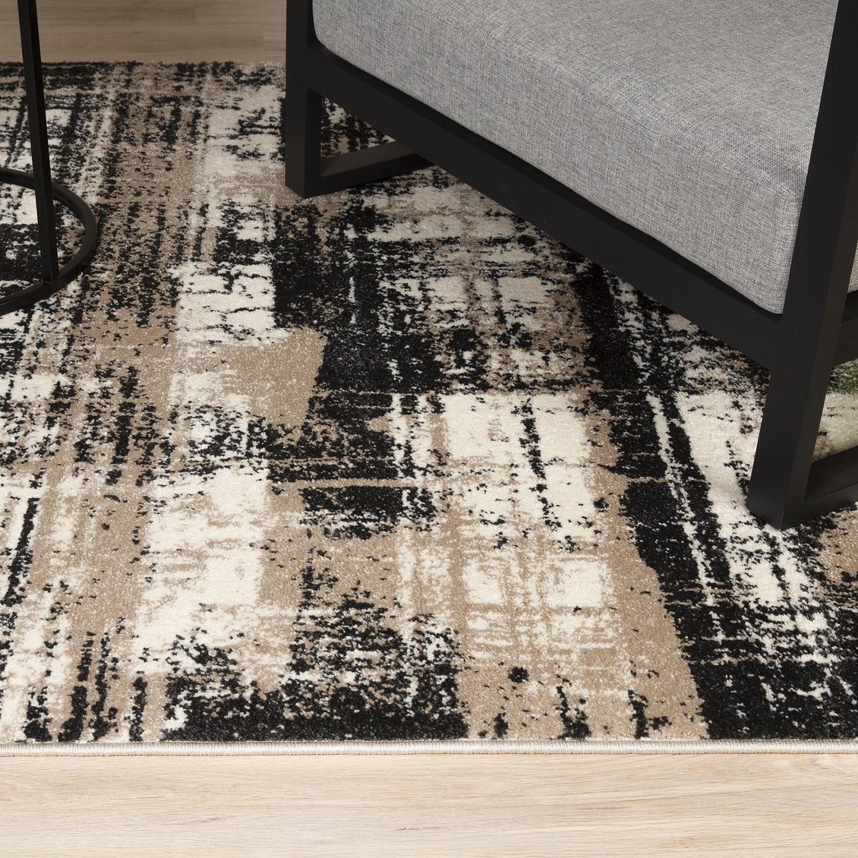 Kurzflor Designer Teppich Obsession Bronx 548 Jade / Grün