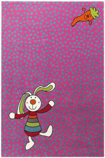 Teppich Sigikid Rainbow Rabbit SK-0523-03 pink