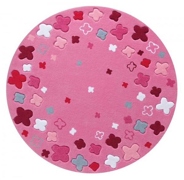 Teppich Esprit Bloom Field ESP-2980-03 rosa