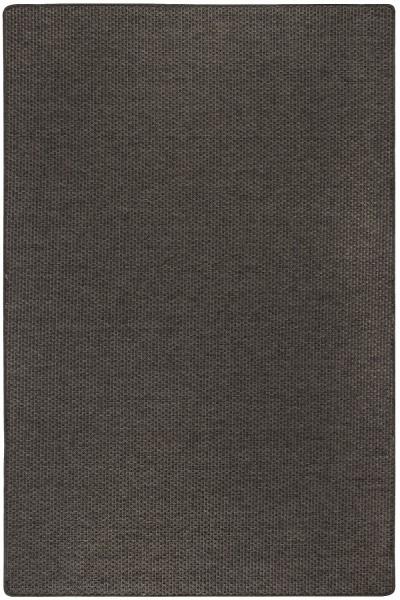 Kurzflor Designer Teppich Luxor Living Nottingham dunkelbraun grau