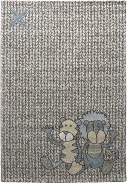 Kinder Teppich Sigikid Patchwork Sweetys SK-21966-730 beige blau