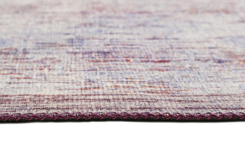 Teppich Wecon Home Embrace Wh 10050 02 Lila Grau Raum Quadrat
