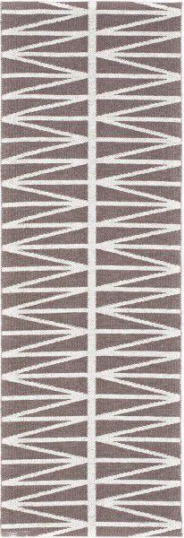 Indoor / Outdoor Teppich Brita Sweden Helmi amethyst / grau (Läufer)