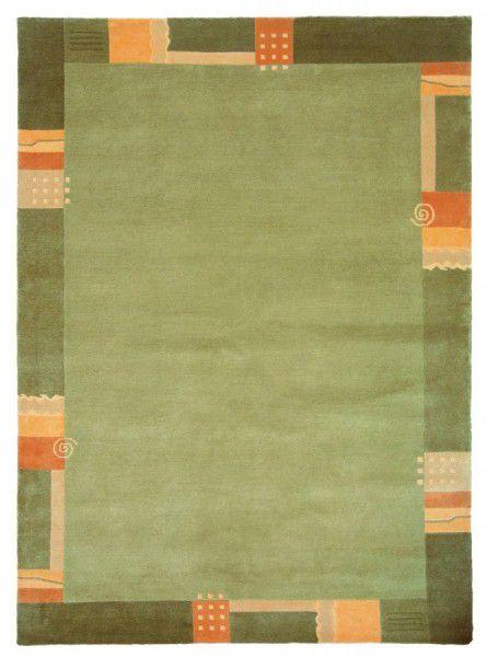 Teppich Wissenbach Shangrila 705 grün 40 x 60 cm