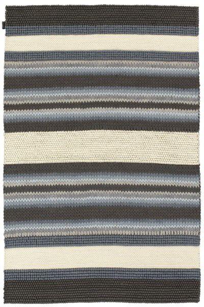 Kurzflor Designer Teppich Angelo Mood 5906-225 grau blau