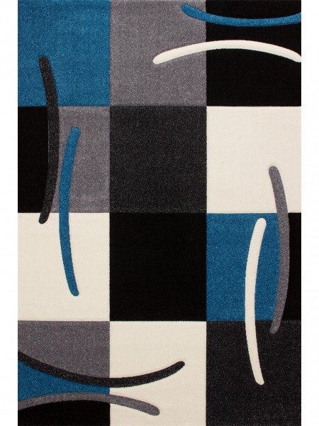 Teppich California 139-600 blau 133 x 190 cm