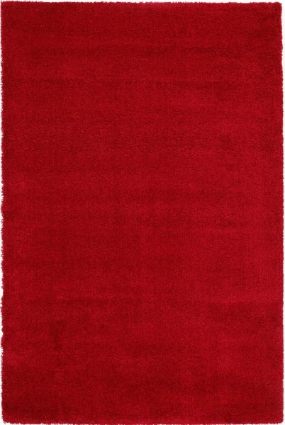 Hochflor Shaggy Teppich Super Line Tenderly 630 rot