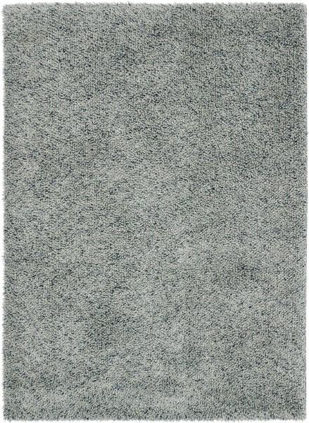 Hochflor Shaggy Teppich Brink & Campman Quartz 067118 silber