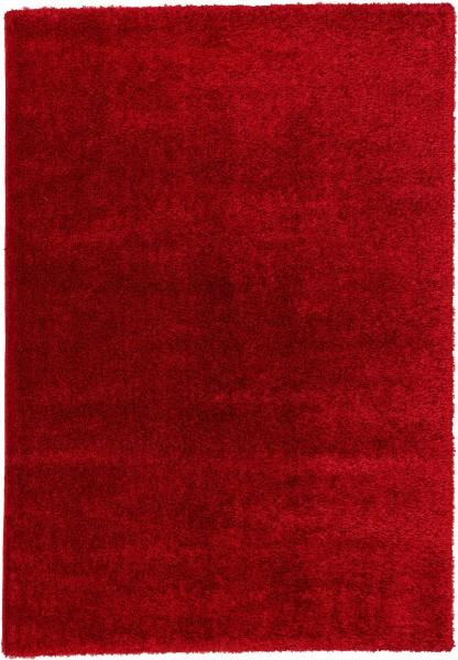 Hochflor Shaggy Teppich Astra Matera 6907 180 010 rot
